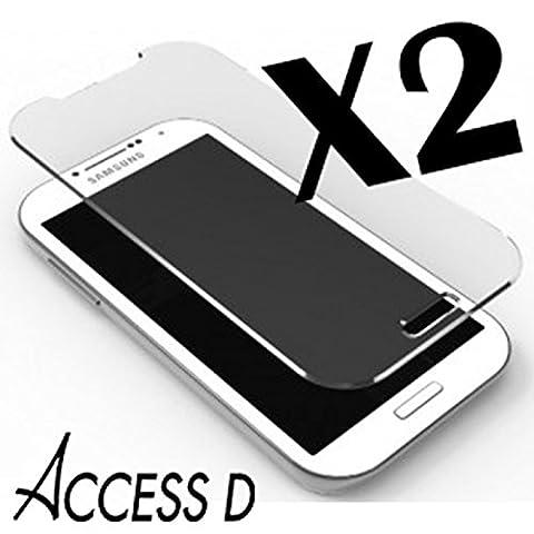 2X FILM DE PROTECTION iPhone-5S-5-5C-Protection-écran en Verre Trempé ACCESSD Film