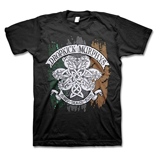 Dropkick Murphys Knotwork Flag T-Shirt