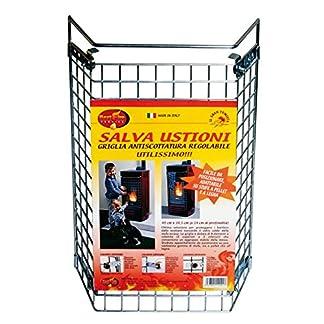 Best Fire 12001 Griglia Salvaustioni, Acciaio