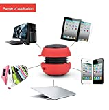 Tragbarer MP3-Player, MP3-Lautsprecher, USB, Stereo-Lautsprecher, Mini-MP3-Player, Musikverstärker, Lautsprecher