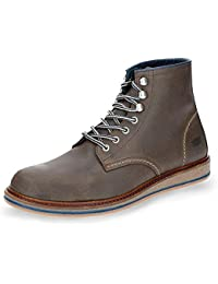 SHOOT Shm1174633, Chaussures de ville à lacets pour homme - gris - gris,