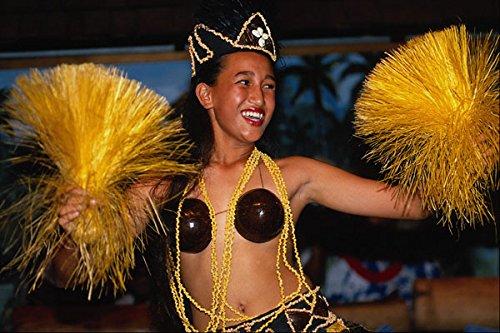 729077 Cook Island Dancers A4 Photo Poster Print 10x8