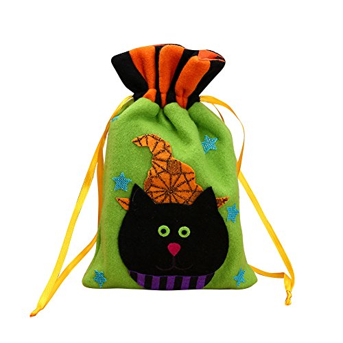 Halloween Kids Trick or Treat Bag, D & & R Halloween Candy Eimer Süßigkeiten/Candy Party Dekoration Zubehör grün