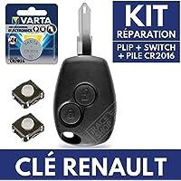 Cleplip 3B caja llave Renault ➜ Kangoo ➜ Twingo ➜ Master ➜ Modus ➜ Clio 3