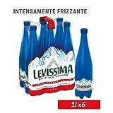 LEVISSIMA, Acqua Minerale Oligominerale Intensamente Frizzante 1l x 6