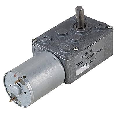 BQLZR DC 12V 154 rpm Electric Power High Torque Turbo Reducer Motor rechtwinklig Gang von BQLZR bei Heizstrahler Onlineshop