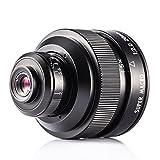 Zhongyi 20mm F2 Makro Objektiv manuelles Vollformat 4X-4.5X micro lens für SONY A Mount Kamera mit TARION Tasche