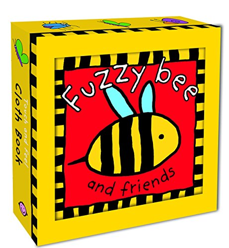 Fuzzy-Bee-and-Friends-Touch-and-Feel-Cloth-Books
