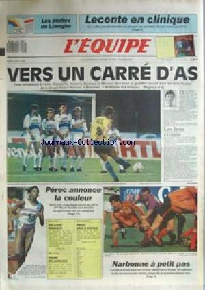 equipe-l-39-no-13376-du-09-05-1989-leconte-en-clinique-foot-vers-un-carre-d-39-as-perec-narbonne-rugby-cyclisme-delgado-natation-faure-auto-prost