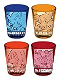 Sonic The Hedgehog 4-Pack Shot Glass