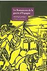 Le Romancero de la guerre d'Espagne par Le Temps des Cerises