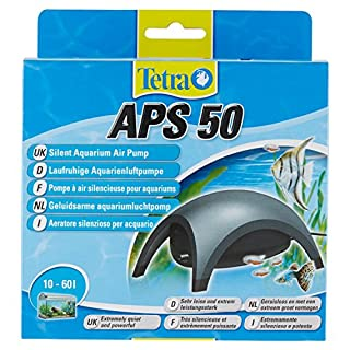 Tetra APS 50 Aquarium air pump Air pump Diaphragm pump for aquariums (very quiet, quiet, powerful, with air control to control the airflow)