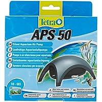 Tetra APS 50 - Pompe à Air Aquarium de 10 à 60L à débit réglable - Puissante silencieuse - Certifiée garantie 3 ans