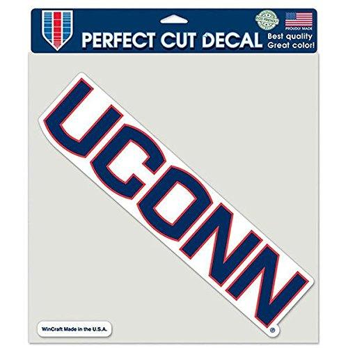 Wincraft NCAA University of Connecticut UConn Huskies 20,3 x 20,3 cm Farbperfekter Schnitt Uconn Connecticut University