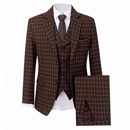 Lilis® Männer Kleidung Männer Formelle Business Smart Casual Bräutigam Männer Slim Fit Anzug Sets