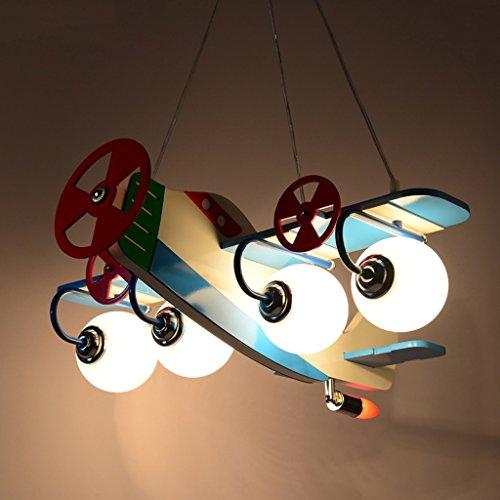 Kronleuchter zu Hause personalisierte Kronleuchte Aircraft Kronleuchter Led Creative Kinderzimmer Lichter Junge Mädchen Schlafzimmer Moderne niedliche Lampen