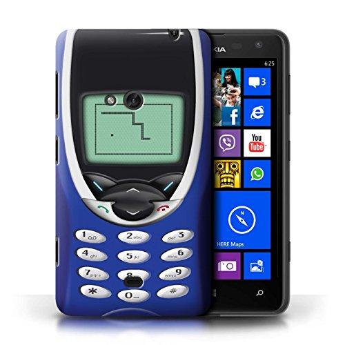 Etui / Coque pour Nokia Lumia 625 / Nokia 8210 bleu conception / Collection de Portables rétro Nokia 8210 Marine