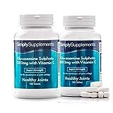 Glucosamina 1000 mg con Vitamina C - 360 compresse - 1 anno di trattamento - SimplySupplements
