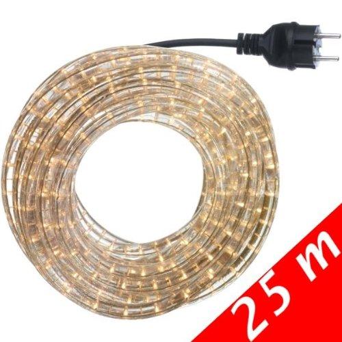 Lichtschlauch Set 25m weiss