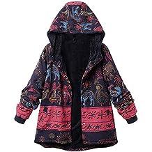 Modaworld Chaqueta de mujer Chaqueta Abrigo Mujer Abrigo Largo con  Cremallera para Mujer Abrigo de Gran tamaño 81d993fcca20