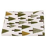 perfk Weihnachten Bedruckte Baumwolle Stoff - Multi