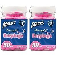 Macks Dreamgirl Weichschaum-ohrstöpsel 50 Paar Glas Zwei Pack preisvergleich bei billige-tabletten.eu