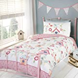 Best Home Collection Bird Houses - Bird House Single Reversible Duvet Cover and Pillowcase Review
