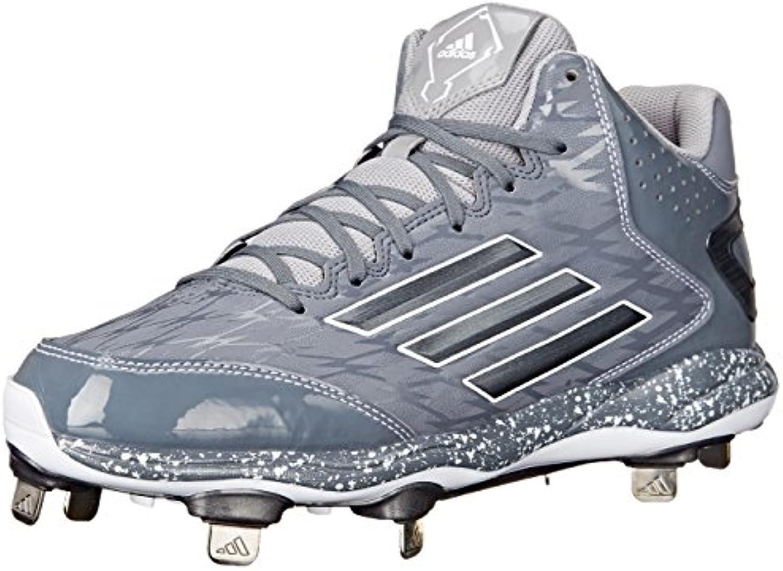 adidas performance poweralley 2 hommes mi - le / baseball chaussure, onix / le carbon / métallique clair onix, 11 m 478044
