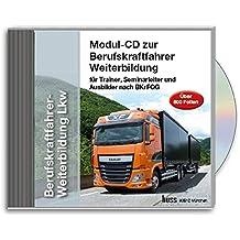 Der EU-Berufskraftfahrer, LKW : Berufskraftfahrer-Weiterbildung -LKW, Trainer CD-ROM