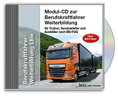 Preisvergleich Produktbild Berufskraftfahrer-Weiterbildung -LKW,  Trainer CD-ROM