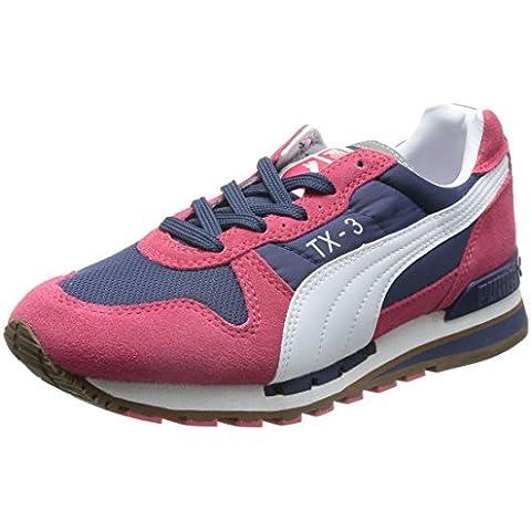 PUMA TX-3 WN's - Zapatillas para mujer, color burdeos