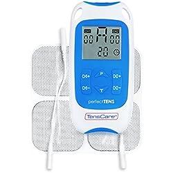 TensCare Perfect TENS - Dispositivo de electroestimulación para aliviar el dolor, clinicamente probado