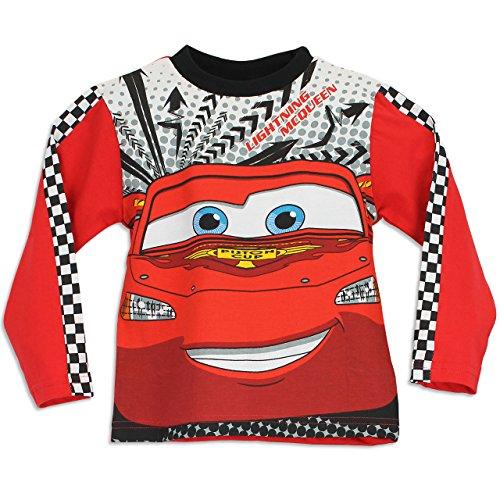 Image of Disney Cars Boys Lightning McQueen Pyjamas Age 2 to 3 Years