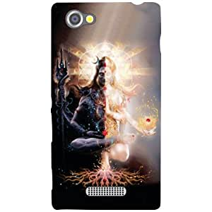 Sony Xperia M Phone Cover-Lord Shiv Matte Finish Phone Cover