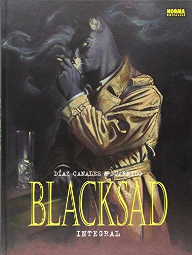 Blacksad Edición integral Volúmen 1 al 5 por Juanjo Guarnido Díaz Canales