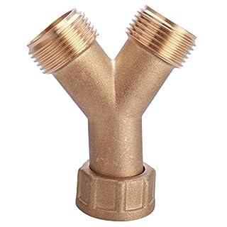 First4Spares Brass Y Piece Adaptor - 3/4