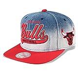 Mitchell & Ness Snapback Cap Chicago Bulls #D1