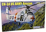 Sikorsky CH-34 US Army Rescue Elicottero Plastic Kit 1:48 Model 64103