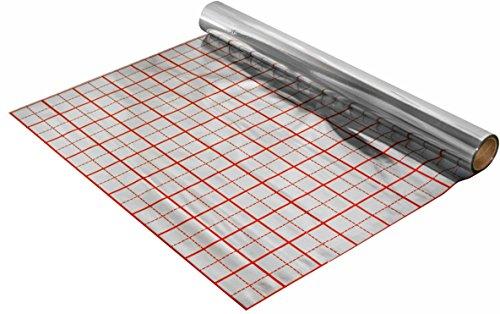 Rasterfolie Folie 50 m2 Iso Fußbodenheizung Fußbodenisolierung Isolierfolie