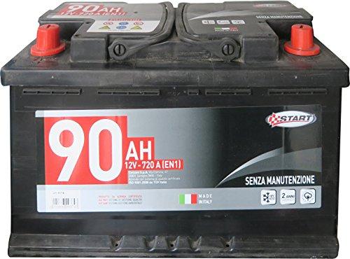 Start L4 Batteria Auto SX 90AH 720A 12V