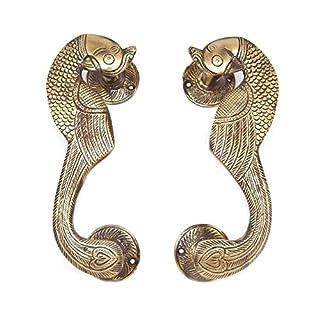 Designer Peacock Door Handle