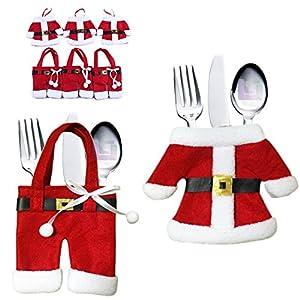 Case Cutlery Cutlery Holder Napkin Bag Christmas Cutlery