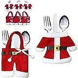 UC-Express - Bolsita para cubiertos y servilletas, diseño de Navidad