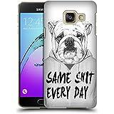 Officiel Balázs Solti Same Shit Every Day Animaux Étui Coque D'Arrière Rigide Pour Samsung Galaxy A3 (2016)