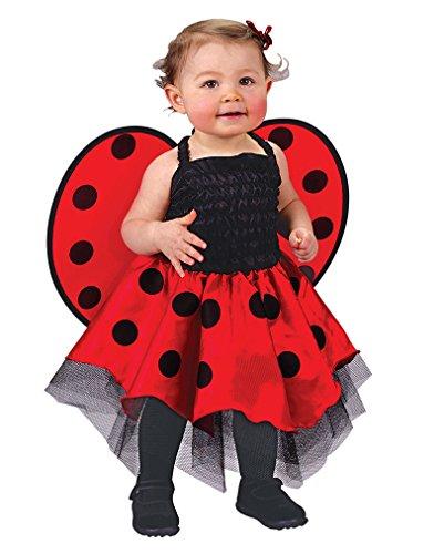 Marienkäfer Kostüm bis 24 Monate