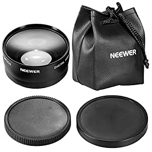 Neewer 58mm 0.45x Wide Angle Lens Macro for Canon Digital EOS