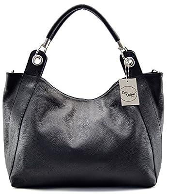 Cuir-Destock sac à main porté main, épaule et bandoulière cuir grainé modèle zendaya - nouvelle collection 2018