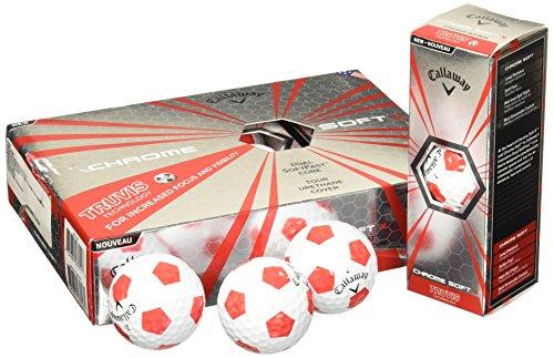 Callaway Men's Chrome Soft Lot de 17 balles de golf Taille...