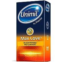 Unimil MAX LOVE® 12 Stück …ist ein Kondom mit einer einzigartigen Form und einem Feuchtigkeitsspender mit dem... preisvergleich bei billige-tabletten.eu