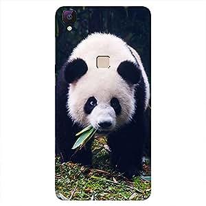 Mobo Monkey Designer Printed Back Case Cover for Vivo V3 (Panda :: Animal :: Cute :: China :: Snow)